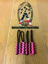 Black and Pink Jeep Wrangler Zipper Pulls YJ TJ JK JKU