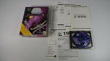 X-Wing CD Collector (PC MSDOS Bigbox) francais incl. Windows CD de inicio