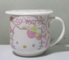 Hello Kitty Ceramic Cup Mug With Lid