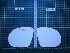 Außenspiegel Spiegelglas Ersatzglas Opel Calibra 1990-98 sport spiegel Li sph
