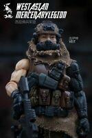 "MH494 Custom Cast Head utiliser avec 3.75/"" Marvel Uni Gi joe Star Wars Fallout figures"