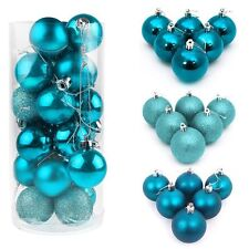 40/60/80mm Christmas Xmas Tree Ball Bauble Hanging Party Ornament Decoration Hot