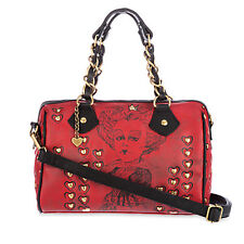 New Disney Store Alice in Wonderland Red Queen of Hearts Purse Handbag