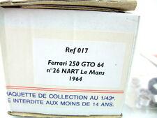 1/43 Le Phoenix Ferrari 250 GTO 64 #26 NART Le Mans 1964 REF 017