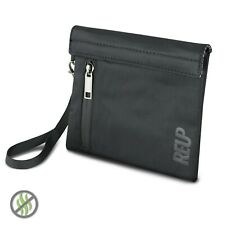 """REUP Smell Proof Bag 7x6"""" Pouch Hook Loop Discreet Travel Smoker Stash Case UK"""