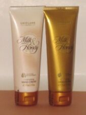 ORIFLAME SWEDEN MILK & HONEY GOLD SET X 2 (HAND CREAM+ HAND SCRUB) 75 ml ea NEW!