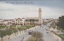 ARGENTINA MAR DEL PLATA AV. LURO Y PALACIO MUNICIPAL TRAMWAY