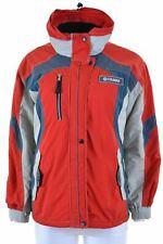 COLMAR Womens Windbreaker Jacket IT 42 Medium Multi Nylon Loose Fit  BE06