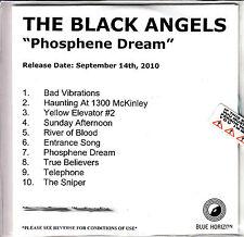 THE BLACK ANGELS Phosphene Dream UK 10-trk watermarked & numbered promo test CD