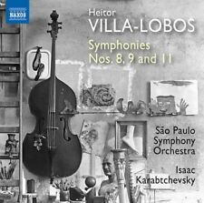 Heitor Villa-Lobos: Symphonies Nos. 8, 9 & 11 [New CD]
