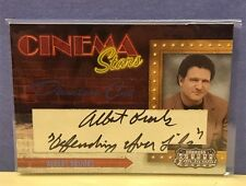 Albert Brooks Auto 2009 Americana Cinema Stars Autograph SP/22 RARE Nemo