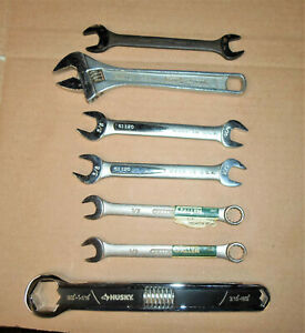 LOT OF 7 – VINTAGE AUTOMOTIVE WRENCHES - NEW