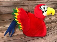 Halloween Youth Parrot hat Costume photo booth prop New with tag one size
