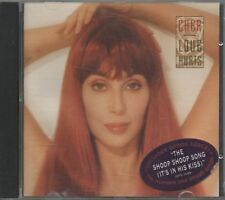 CHER CD 1991 LOVE HURTS - 12 tracks Shoop Shoop ex original cond.