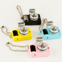 Creative Mini Camera Keychain Keyring Keyholder With Flash  Light&Sound Effect