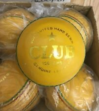 Indoor Leather Bound MENS  Club Cricket Balls RRP £17.99 Each
