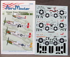 1/48 AeroMaster Decals 48-635 GREEN NOSE MUSTANGS OF EAST WRETHAM  Part II mint