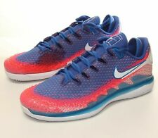 Nike Air Zoom Vapor X Knit Tennis Shoes Mens White/Game Royal AR0496-103 Sz 10.5