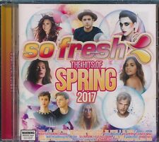 So Fresh Hits Of Spring 2017 CD NEW DJ Khalad Avicii Vance Joy with Lyrics