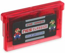 NES Classics 150 in 1 Games GBA Gameboy Advance SP multicart Zelda FREE SHIPPING