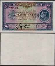 More details for malta 10 shillings (p19) kgvi n. d. (1940) unc