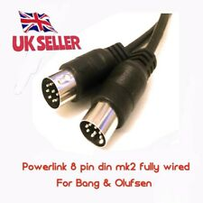 4.0 MTS 8 PIN DIN mk2 Powerlink Cavo Connessione Beolab Bang & Olufsen Altoparlante
