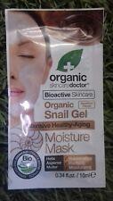 Dr,Organic Snail gel moisture face mask, Intensive Anti-ageing 10ml
