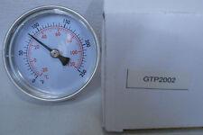 Lochinvar Water Heater Replacement Temperature Gauge 0 - 250 F   GTP2002