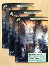 Scorched Earth Android Netrunner Promo Card Set