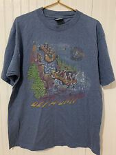 Ocoee River Get A Grip White Knuckle Club Graphic Tee T Shirt Sz Large