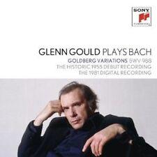 GLENN GOULD - BACH: GOLDBERG VARIATIONEN 1955 & 1981 (GG COLL 1) 2 CD NEU