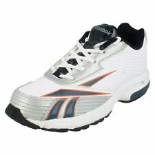Silver Leather Athletic Shoes for Boys