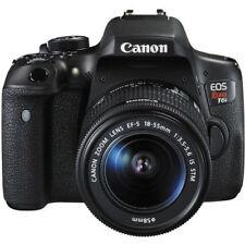 Canon EOS Rebel T6i / 750D Digital Camera EF-S 18-55mm IS Lens (2 LENSES)