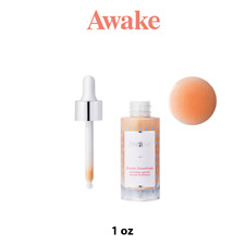 AWAKE BEAUTY Dream Dewdrops Hyaluronic Shimmer Serum For Face, Authentic (1 oz)
