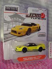 Jada JDM Tuners 14036 Toyota Ft-1 concepto 1/64 fundido modelismo coche amarillo