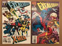 Excalibur #57 73 Marvel Comics 9.6 Madureira art X-Men Wolverine appearance