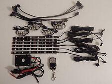 10pc 18 Color Sound Action Led Octane Motorcycle Led Strip/Pod Neon Lighting Kit