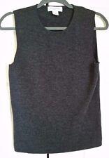 Brooks Brothers 100% Merino Wool Woman's Sleeveless Knit Top Size Large