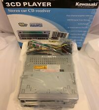 2004 Kawasaki 3-cd player. Stereo Car CD receiver New/Open Box