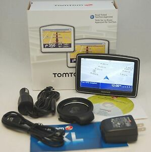 "NEW TomTom XXL 540S WTE Car GPS USA/Canada/Europe MAPS 5"" LCD World Traveler Ed."