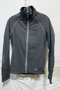 Louis Garneau Spire Convertible Jacket Men's Small Iron Gray Retail $179.99