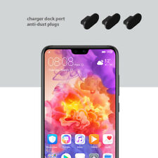 Huawei P20 pro Charging Port Cover 3 set Pack Anti Dust Silicone Cap