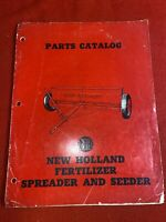 1952 New Holland Fertilizer Spreader And Seeder Parts Catalog Manual