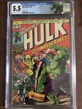 The Incredible Hulk #181 CGC 5.5 (Nov 1974, Marvel)