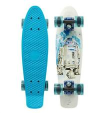 """PENNY cruiser skateboard - Star Wars R2D2  22"""" - Blue/White - Limited edition"""