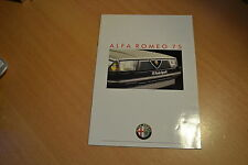 CATALOGUE Alfa Roméo 75 de 1987