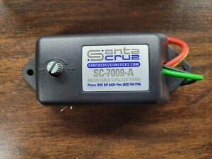 SANTA CRUZ SC-7009-A ADJUSTABLE GUN LOCK TIMER 6-40 SECONDS NEW