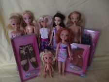 BARBIE MIX LOT OF DOLLS:  MY SCENE DOLLS, MGA DOLLS, LUCKY IND DOLLS