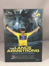 The Lance Armstrong Collection 3 DVD Box Set Region 2 UK Cert E
