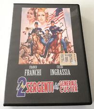 I 2 SERGENTI DEL GENERALE CUSTER (1965) FILM DVD FRANCO FRANCHI CICCIO INGRASSIA